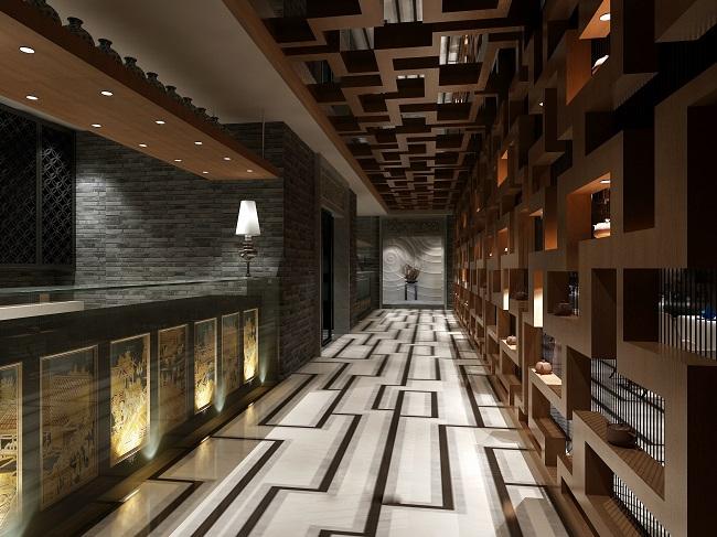 中式餐馆设计方案(丝绸之路)