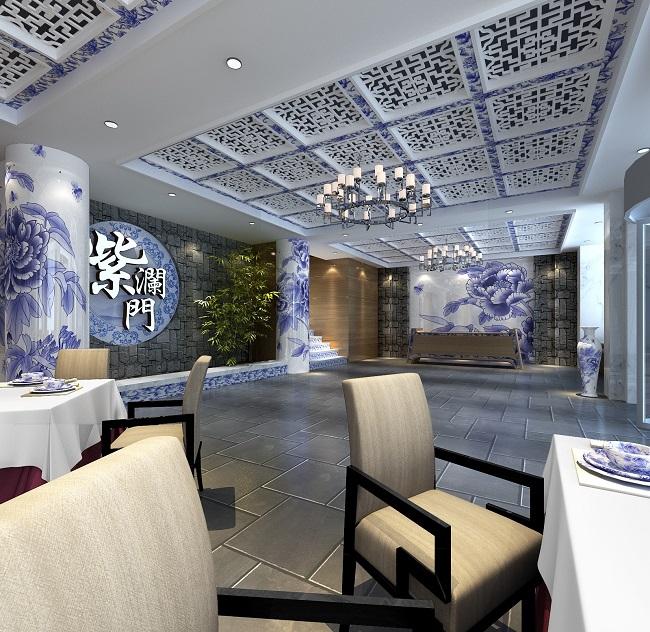 青花瓷主题茶餐厅设计方案(无锡)   专注高品质的装修设计,活跃于餐饮专业领域,目前业务立足上海,南京,杭州,,辐射全国10多个城市。拥有一批经验丰富的专业设计人员,是一支充满活力的创作团队,时尚餐饮已经成为主要设计业务专注对象,并不断取得一定的业绩。团队理念:专注设计,品质为先