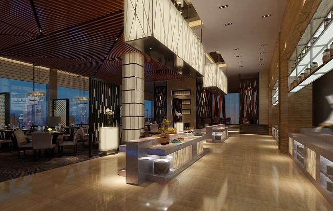 时尚简约餐厅空间设计方案