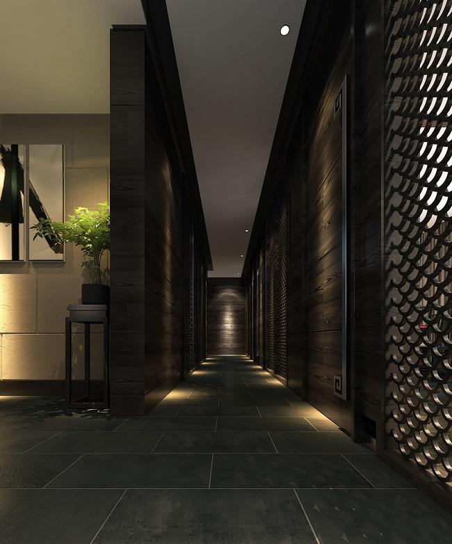 新中式餐馆设计方案