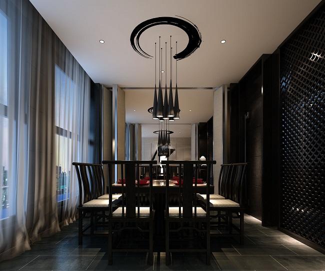 独立室内设计师效果图设计方案_餐馆设计_商业空间新