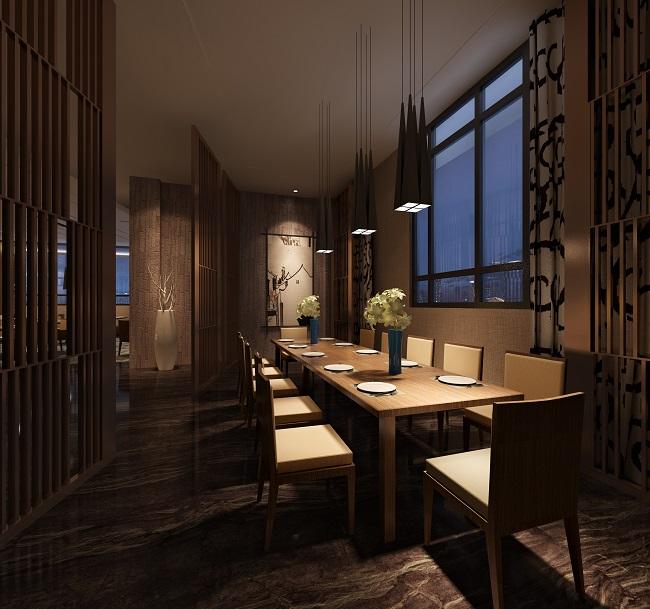 最新休闲餐厅空间设计方案(江苏)