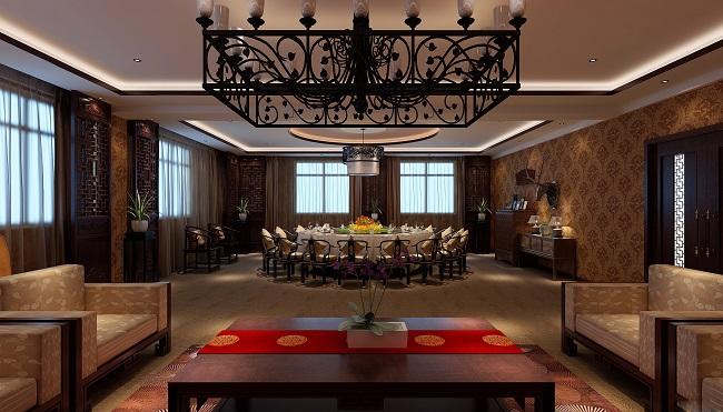 中式餐馆设计方案(重庆)