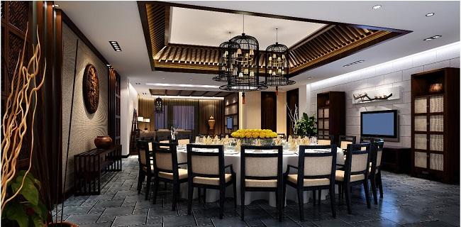 中式餐厅设计方案(徐州)