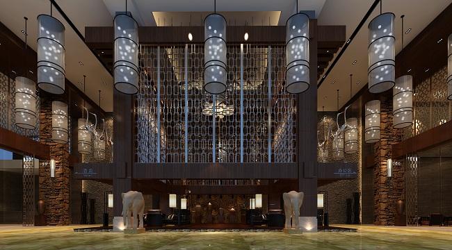主案酒店设计师:林坚