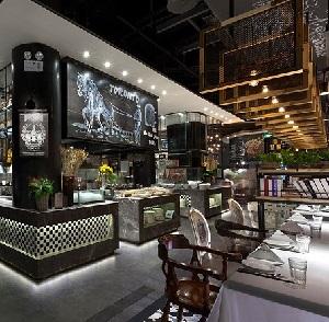 徐州多伦多餐厅室内设计(江苏)