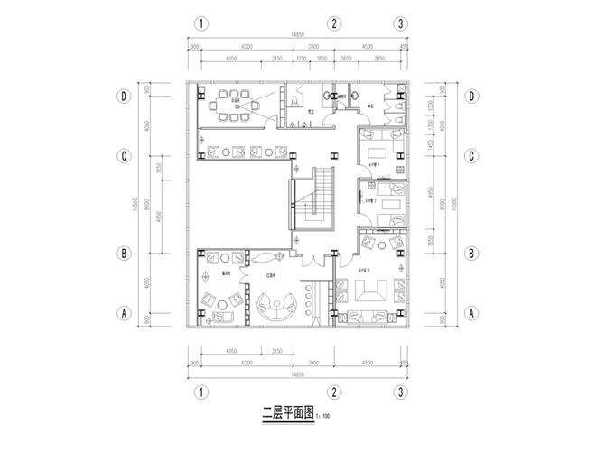 """独立设计师:威海""""江山一品""""售楼处设计(山东)"""